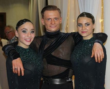 Wojtek with the Powerpuff girls :)