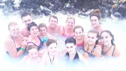 Fun at the Blue Lagoon