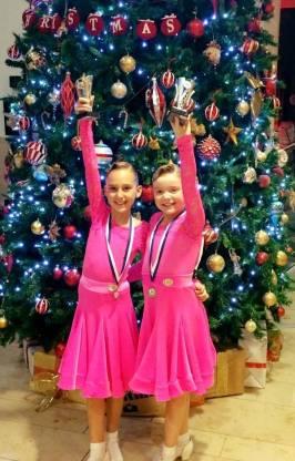 Tara and Katie - proud winners!
