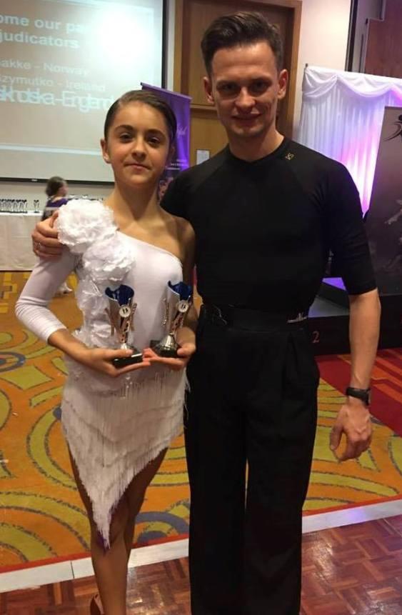 Wojtek with his winner Cezara