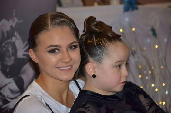 Faustina with Hannah