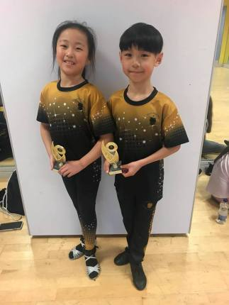 Conor and Tina - Students of April 2019