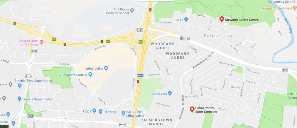 Palmerstown Map