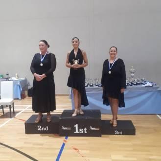 Lisa 1st- Niamh 3rd