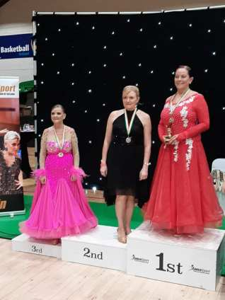 Niamh 1st - Geraldine 2nd - Claire 3rd